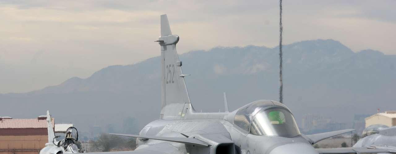 Gripen -Segundo a fabricante, o Gripen NG é o caça mais ágil do mundo em combate de perto