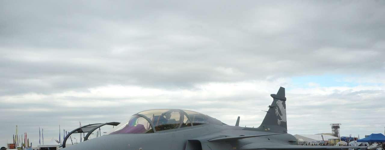 Gripen -Aeronave possui mais de 22 mil libras de empuxo, garante a Saab