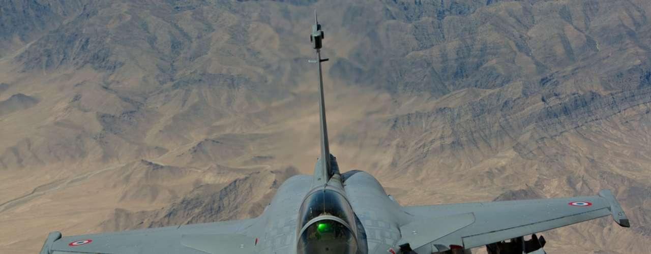 Rafale -De fabricação francesa, o caça Rafale é feito pela Dassault