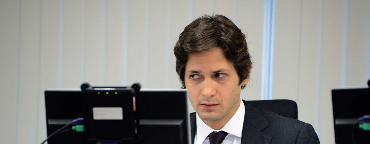 Presidente do STJD, Flávio Zveiter acompanha julgamento