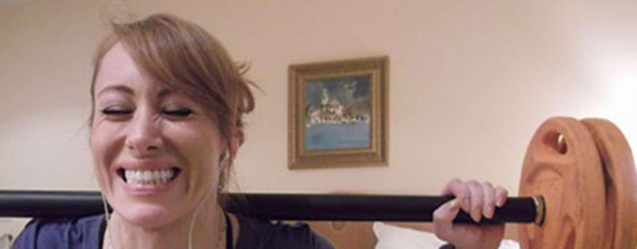 Aline, 33 anos, é atriz de Porto Alegre