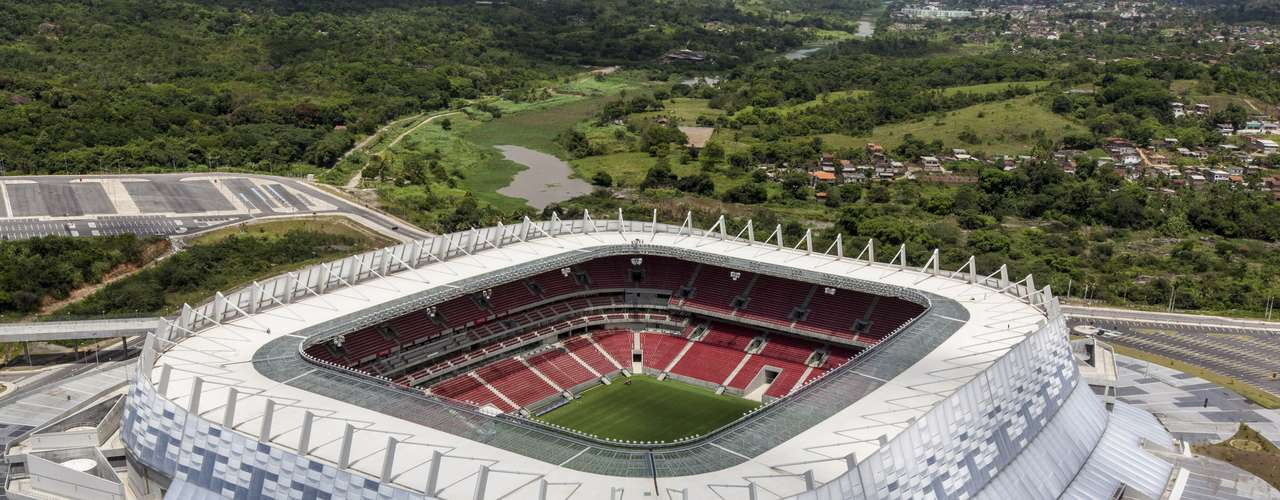 Inaugurada em 14 de abril, a Arena Pernambuco vem recebendo partidas do Náutico