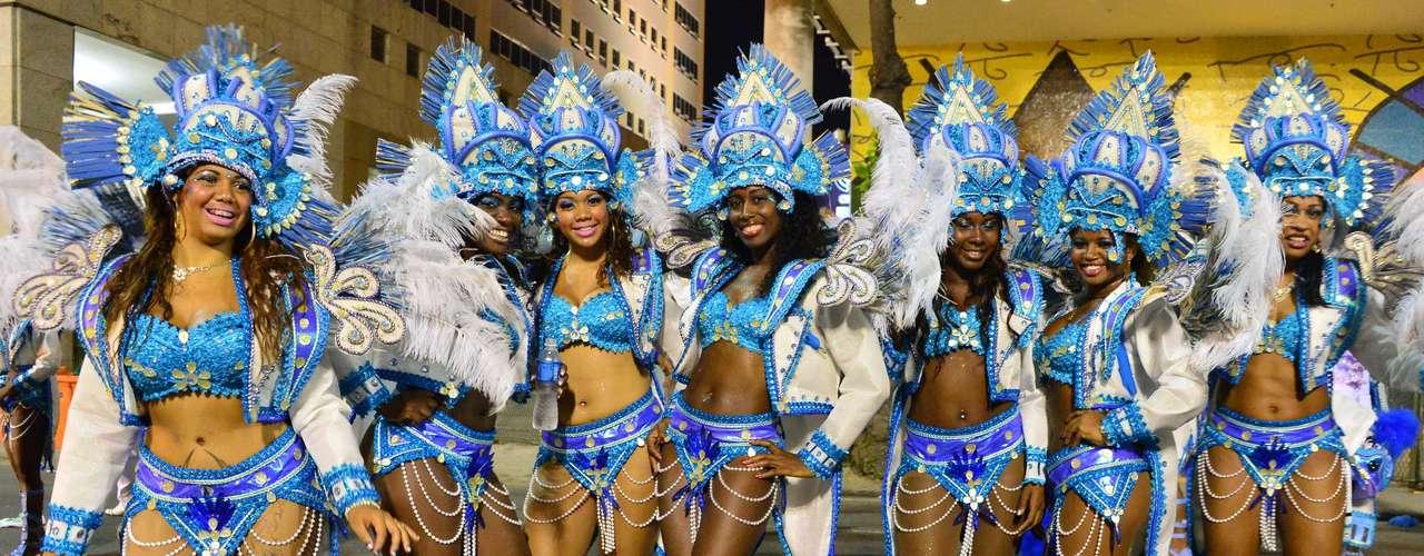 O carnavalesco Wagner Gonçalves foi o responsável pelo desfile da Inocentes de Belford