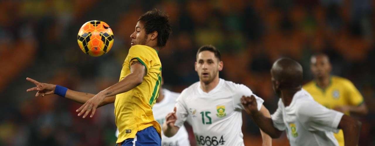 Partida em Johannesburgo marcou o encontro das sedes das Copas do Mundo de 2010 e 2014