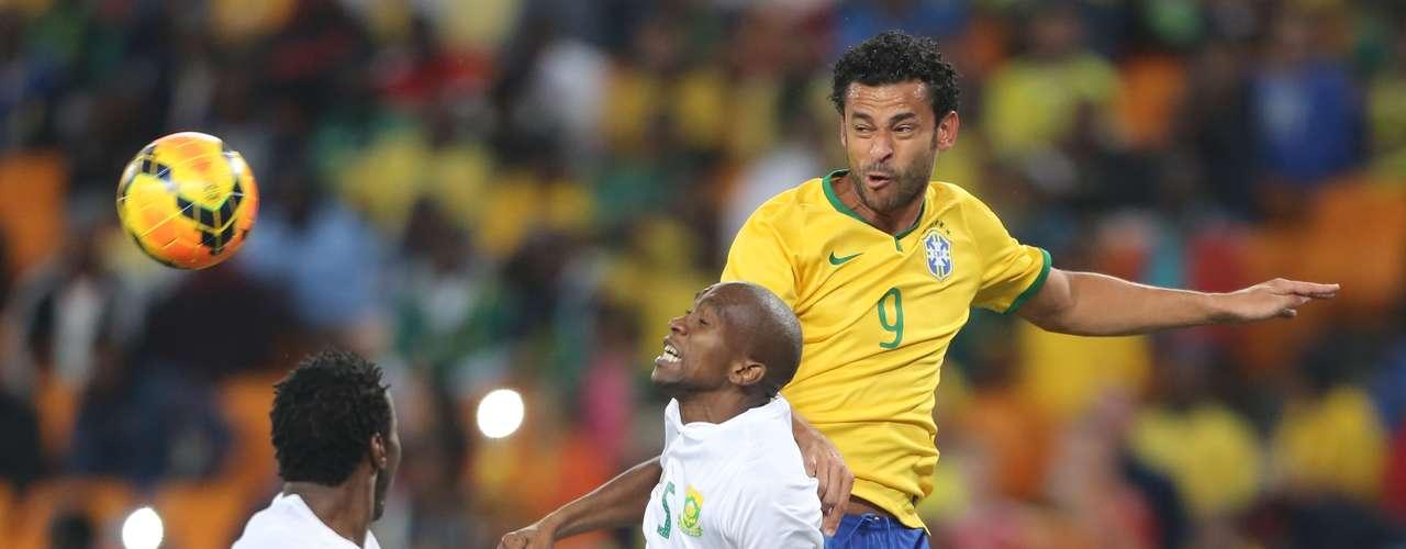 Jogo marcou também a volta de Fred à Seleção após mais de seis meses de tratamento de uma lesão