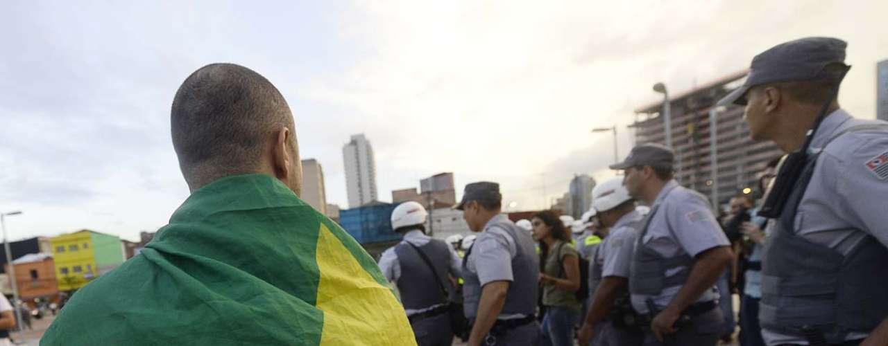 13 de março -O protesto tem saída prevista do Largo da Batata, no centro de São Paulo