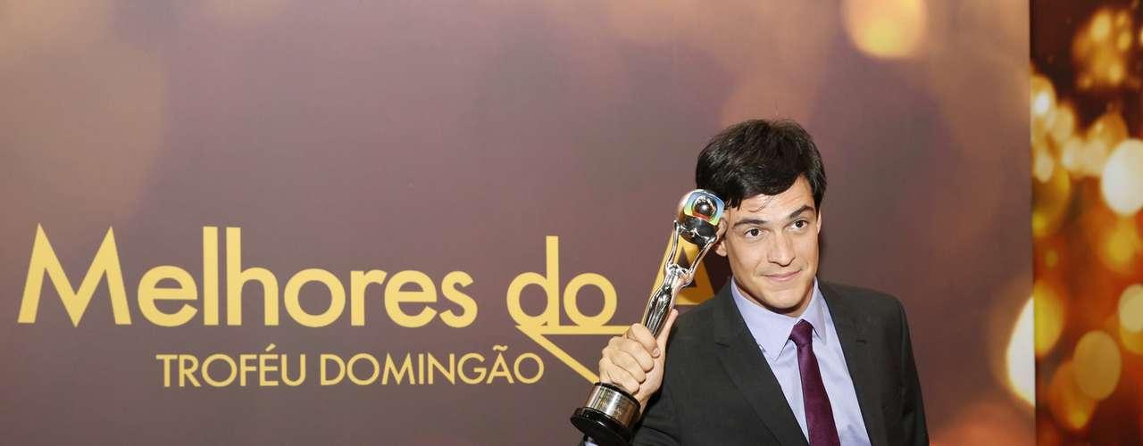 Melhor Ator - Mateus Solano viveu o carismático vilão Félix, em 'Amor à Vida'