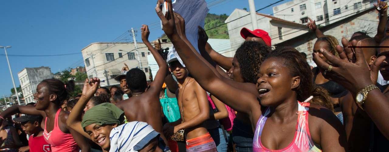 Cláudia da Silva Ferreira, moradora de uma comunidade em Madureira, Zona Norte do Rio de Janeiro, tinha 38 anos