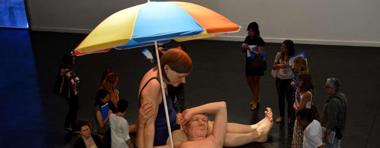 Entre 20 de março e 1 de junho, o Museu de Arte Moderna do Rio de Janeiro (MAM) recebe a exposição inédita no Brasil das obras realistas do australiano Ron Mueck