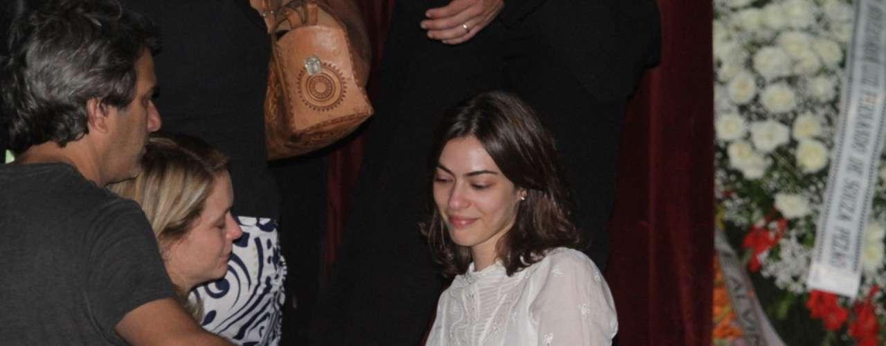 Isabel Wilker, filha do ator, também recebeu apoio de amigos e familiares