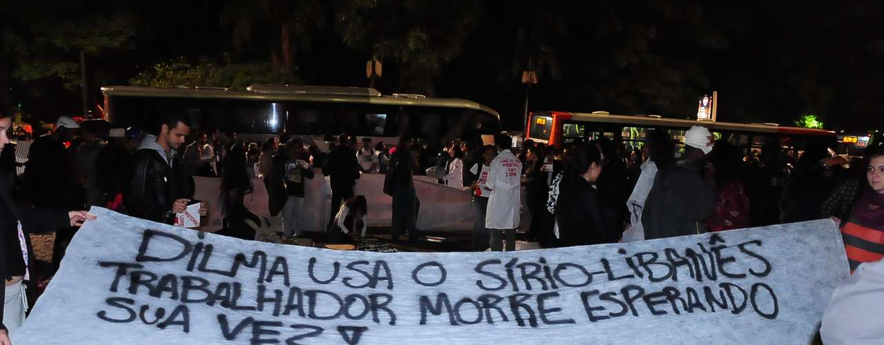 15 de abril -Segundo a PM, cerca de 800 homens foram destacados para acompanhar o protesto