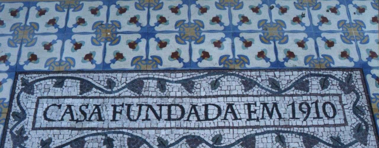 A arte foi usada para marcar a data de fundação de uma vinícola, no Rio Grande do Sul