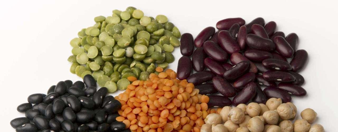 Leguminosas - Soja, ervilha e feijões também estão na lista dos alimentos que mais podem causar alergias