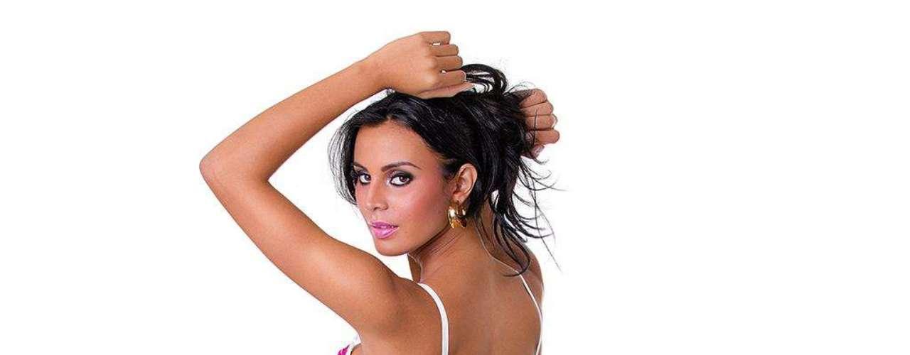 Lorena posou para marca de lingerie
