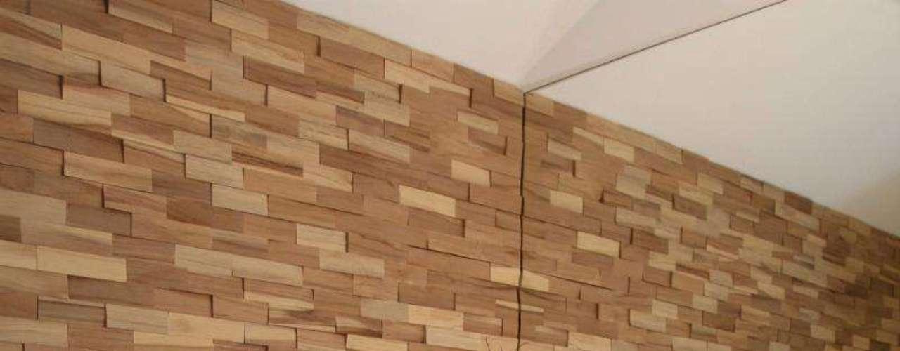 Finalmente, madeira no banheiro sem ter que se preocupar com a umidade