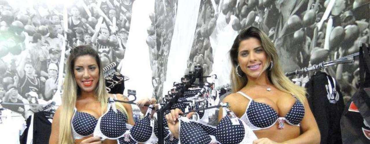 O lançamento da coleção aconteceu na loja do Parque São Jorge, em São Paulo