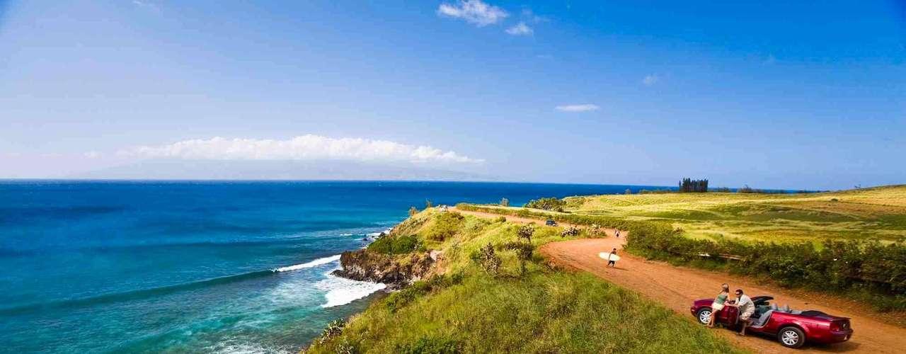 Maui, Estados Unidos: segunda maior das ilhas havaianas, Maui reúne o melhor do arquipélago, com praias, natureza, e opções de entretenimento urbano. Muitos resorts  oferecem a possibilidade de curtir o Havaí em família, agradando adultos e crianças