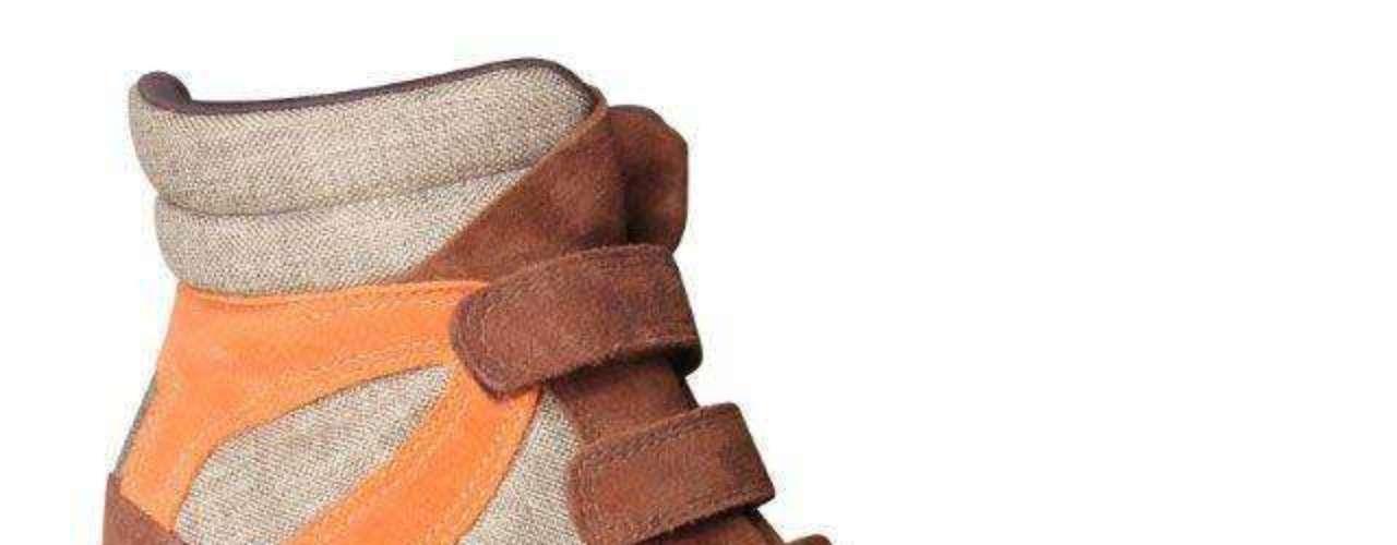 A peça mistura três tonalidades: cáqui, camurça e cenoura. Da Hetane. Preço sugerido: R$ 299. Informações: (51) 3549-9000