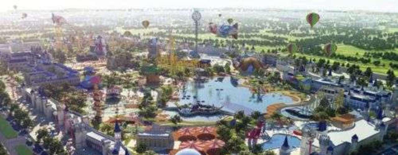 Jinling Happy World, China: este é um parque que se destaca pelas suas montanhas-russas. A maior delas é a Coaster Inversion, com 11 inversões, saca-rolhas e um par de loopings. Até o final do ano, mais duas montanhas-russas devem ser inauguradas. O parque promete que uma delas deve ser a mais alta do mundo