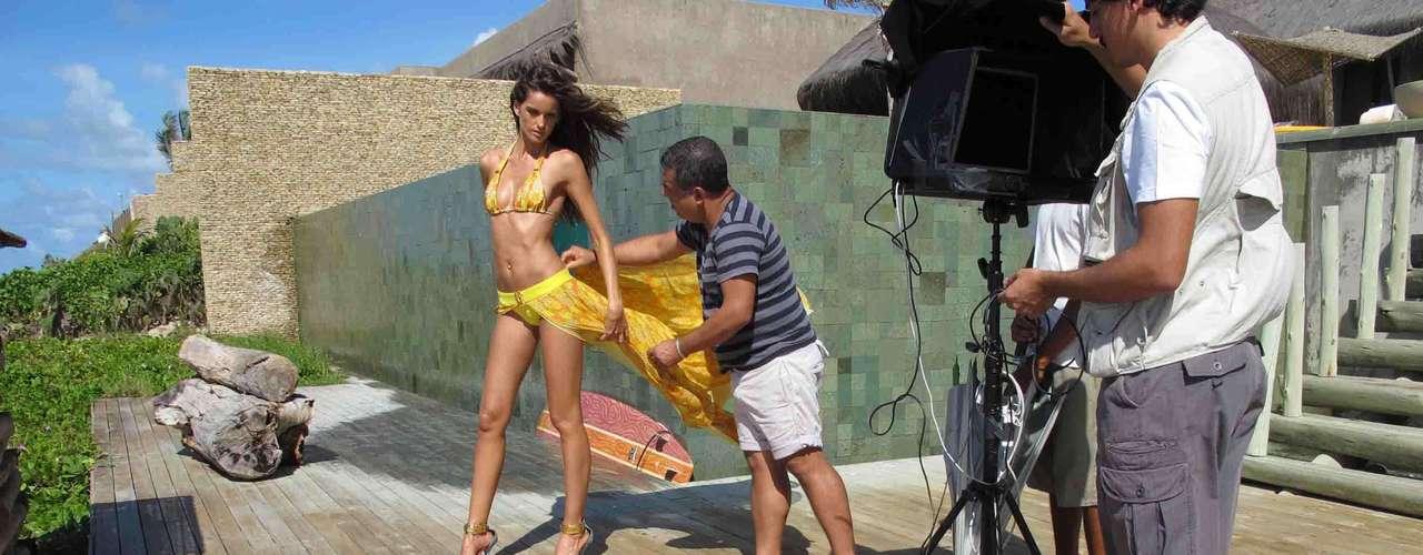 Izabel desfillou pela marca na última edição do Fashion Rio