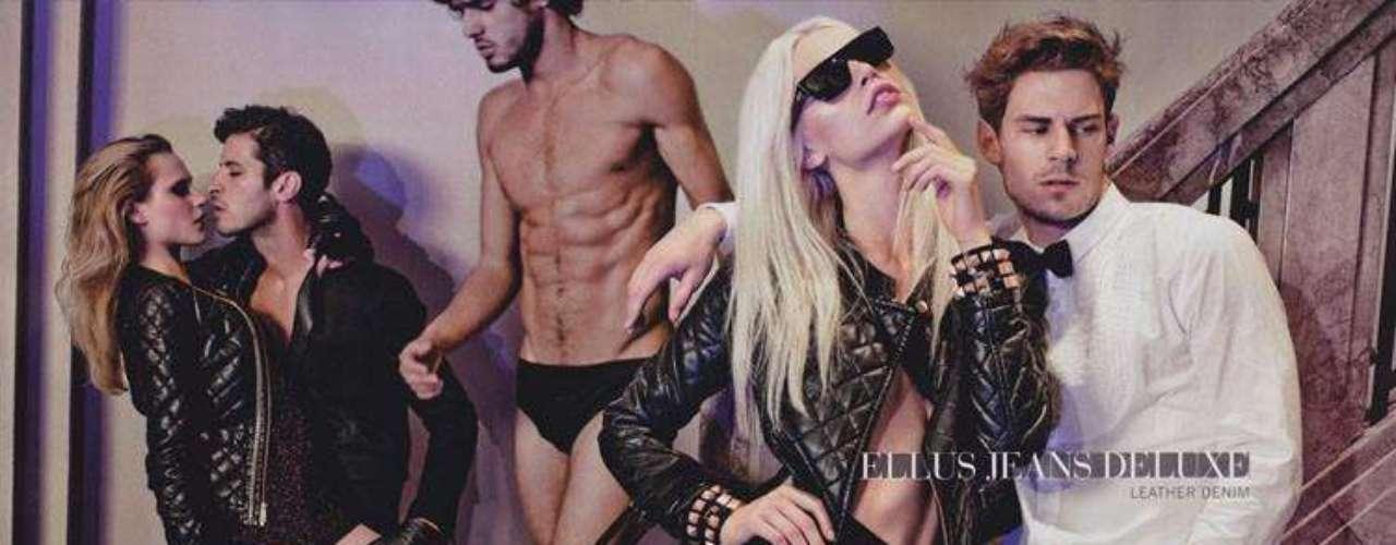Aline Weber foi estrela da campanha inverno da marca Ellus