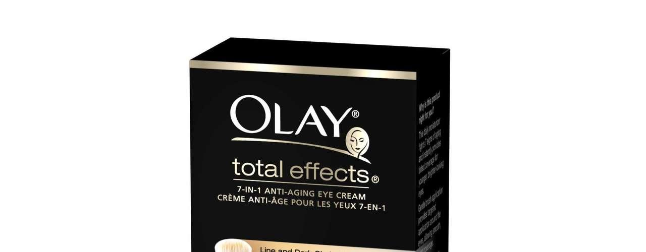 O escolhido por Fernanda é o Total Effects Eye, da Olay, aplicado sempre que a área apresenta aspecto ressecado. Nas lojas, o cosmético é adquirido por R$ 54,90.