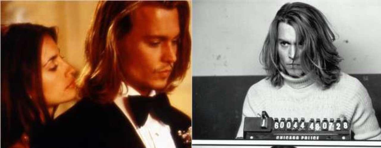 Em 2001, quando ainda estava iniciando sua carreira em Hollywood, a estrela espanhola contracenou com o consagrado ator Johnny Deep em \