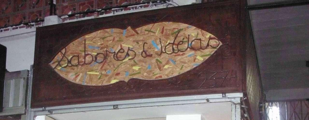 A 'Sabores e Ideias' fica no Mercado Central novo, no centro de Belo Horizonte