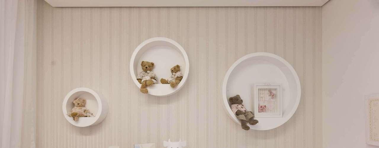 Como a decoração é neutra, pode ser usada para menino ou menina