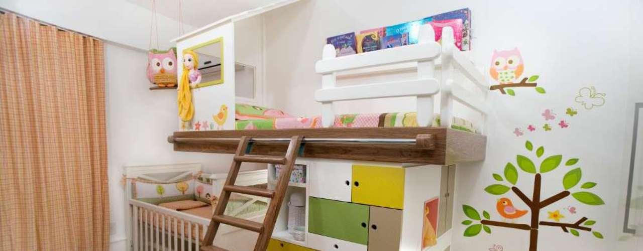 Este é um quarto ideal para quem já tem um filho um pouco mais velho