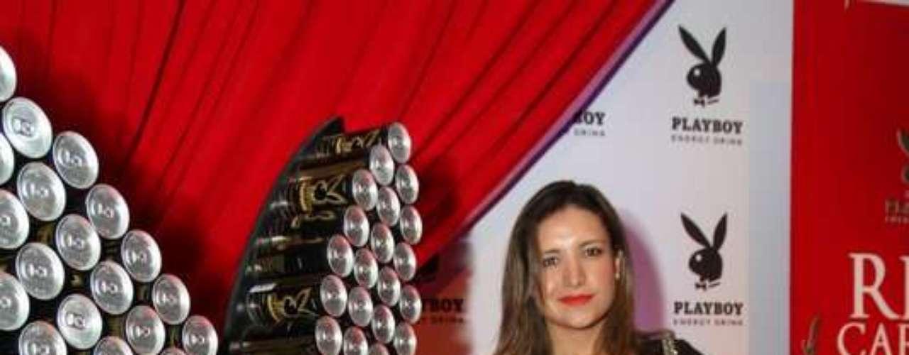 A ex-BBB Natalia Castro foi uma das convidadas do lançamento do energético Playboy Energy Drink