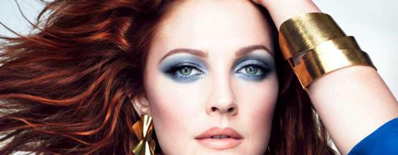 A atriz Drew Barrymore é uma das celebridades que já representaram a marca