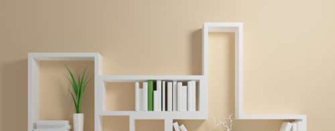 O mesmo recurso é usado neste modelo. A dimensão dos nichos varia em largura e altura