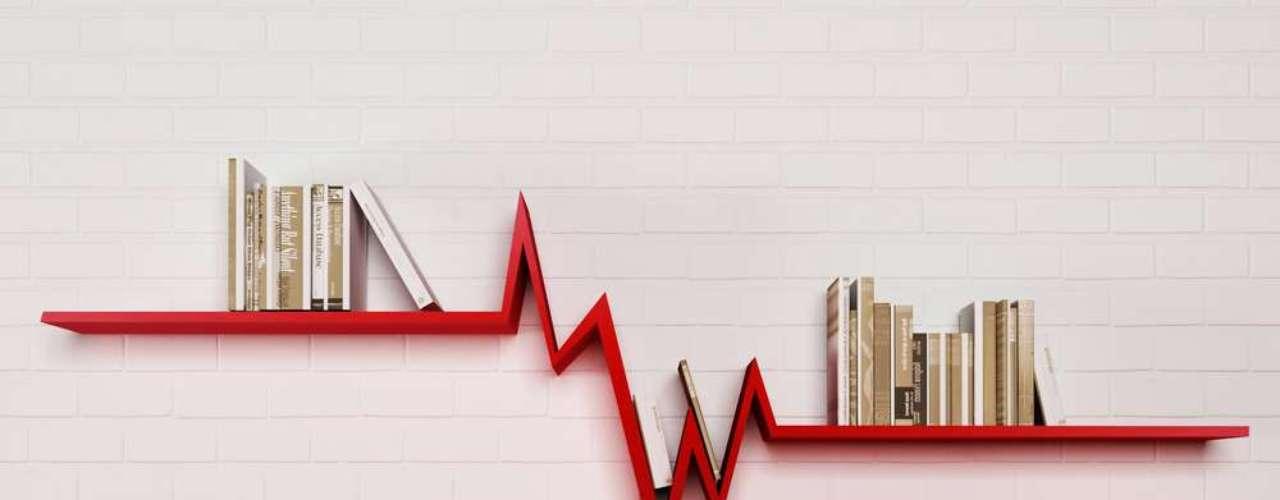 A quebra, aqui, veio com uma pitada de humor, ao fazer referência à variação de índices econômicos