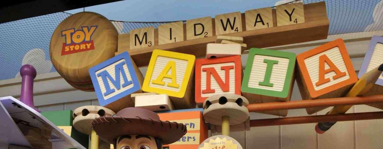 8. Hollywood Studios, Estados Unidos: mais de 9 milhões de pessoas estiveram no parque Hollywood Studios, do Walt Disney World de Orlando, em 2011. Estúdio de cinema em tamanho real, Hollywood Studios tem ruas, prédios e réplicas de lugares famosos ligados ao cinema e aproxima adultos e crianças do mundo cinematográfico de maneira divertida, através de atrações como o Toy Story Midway Mania