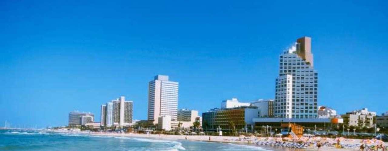 9. Tel Aviv, Israel: apelidada de Miami do Oriente Médio, a cidade ganha vida quando o sol se põe