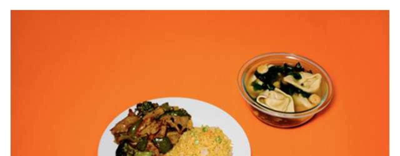 Macarrão e carne com brócolis estavam entre os pedidos de um dos condenados