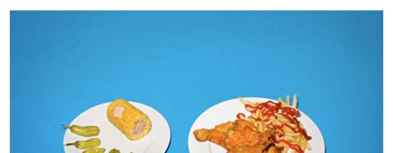 Pimentas, milho e batata frita foram os pratos pedidos por um dos condenados