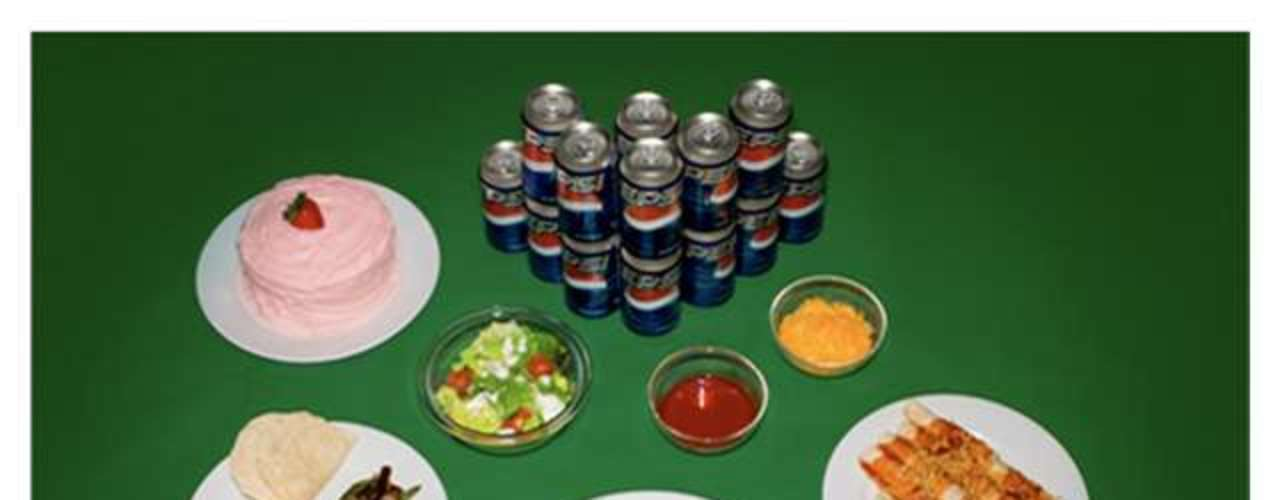 Tacos, salada verde e refrigerantes estavam entre os alimentos pedidos por este condenado
