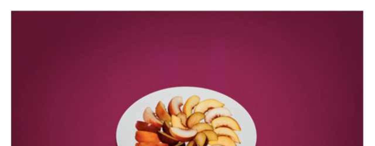 Um prato de pêssegos foi o último menu consumido por um criminoso