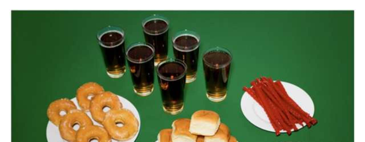 Doces, refrigerantes e rosquinhas fizeram parte do último menu de um condenado