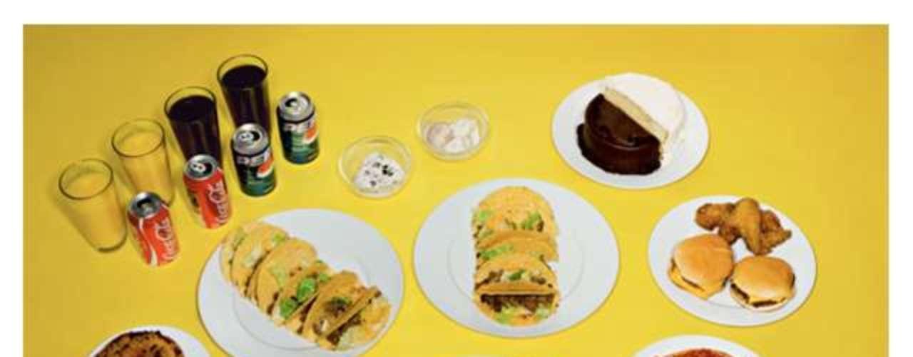Refrigerantes, pizza, macarrão, hambúrguer compuseram o último menu de um prisioneiro