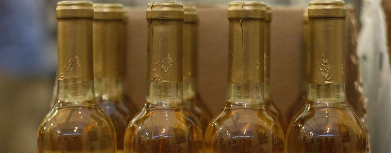 O vinho de sobremesa Aurora Colheita Tardia Semillon e Malvasia Bianca custa R$ 15