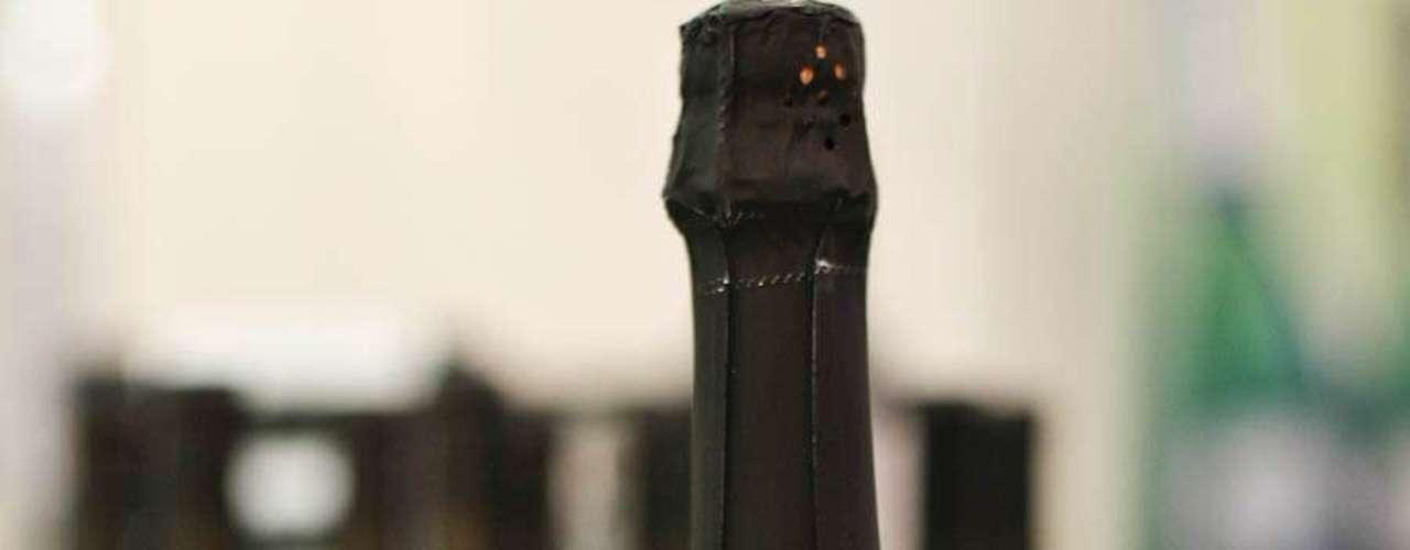 O espumante Aurora Brunt 100% Pinot Noir sai por R$ 25 na feira