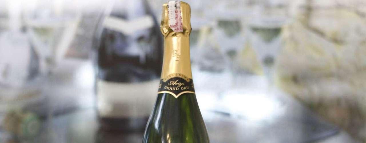 O único Champagne servido no banquete do Pêmio Nobel em Estocolmo em 2010, o Franck Bonville Grand Cru custa R$ 350 na feira