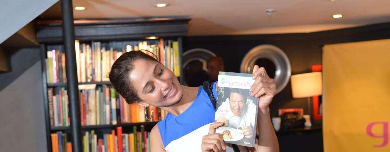 O evento aconteceu na Livraria da Travessa, do Shopping Leblon, no Rio de Janeiro
