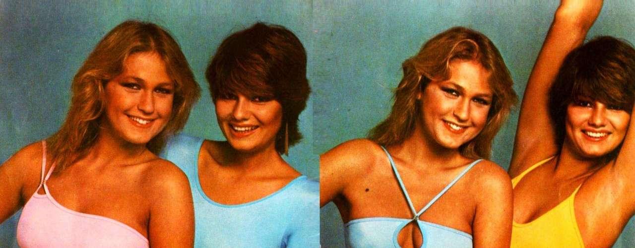 Recentemente Luiza Brunet postou no Twitter uma foto ao lado de Xuxa Meneguel nos anos 80. A apresentadora estava com os fios mais longos