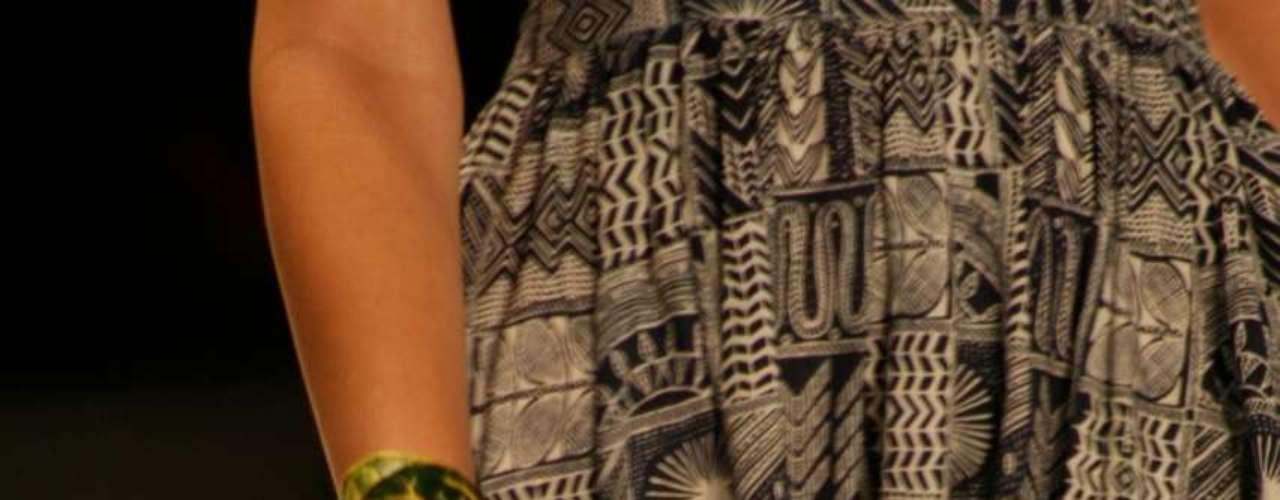 Desfile de Mara Hoffman na semana de moda de Nova York