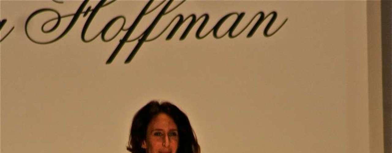 A estilista Mara Hoffman encerrou seu defile na semana de moda de Nova York