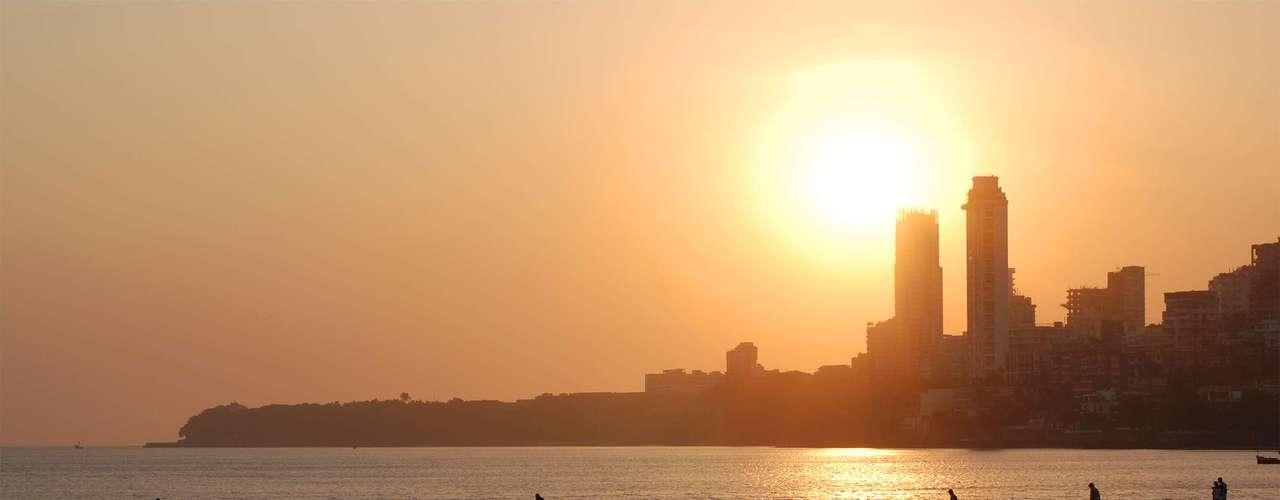 Chowpatty Beach, Mumbai: essa praia da Índia é uma das mais poluídas do mundo